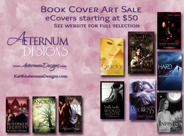 Pre-made Book Cover Sale